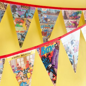 Superhero Comic Book Banner