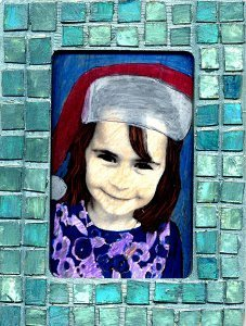 Mosaic CD Picture Frame