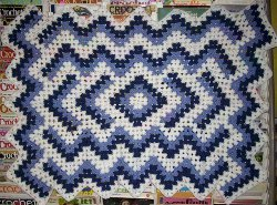 Diamond Pond Afghan