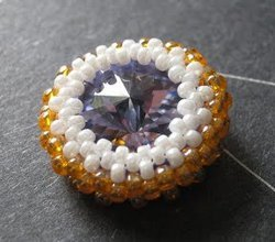 How to Bezel a Rivoli Rhinestone