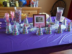 My Little Cupcake Party Tablescape