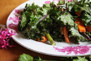Gluten-Free Sweet Potato and Quinoa Kale Wraps Recipe ...