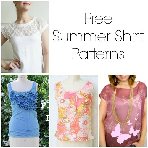 28 Free Summer Shirt Patterns Allfreesewing Com
