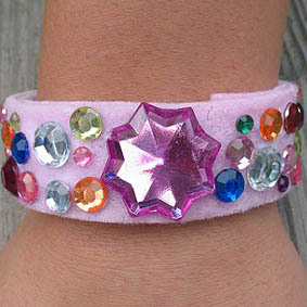 Pretty Recycled Princess Bracelets