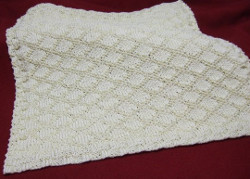 King Charles Brocade Baby Blanket