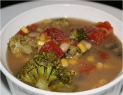 Clean-Out-The-Pantry Minestrone Soup