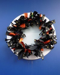 Festive Ribbon Wreath