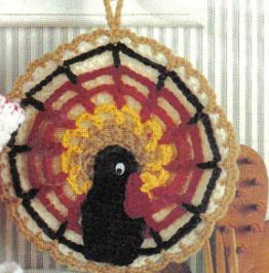 Thanksgiving Turkey Potholder