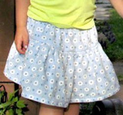 Back to School Skirt for Girls