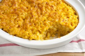 Wacky Pumpkin Mac and Cheese