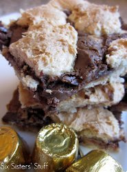 Rolo Cake Mix Bars