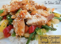Slow Cooker Teriyaki Chicken Stir Fry