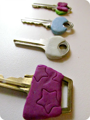 DIY Clay Key Decorations