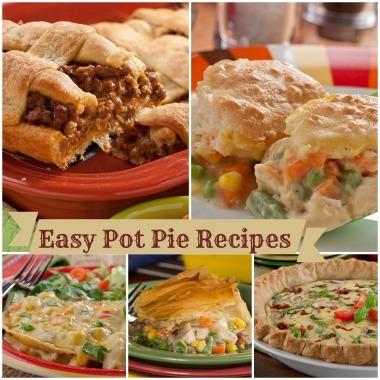 Easy turkey pot pie recipe chicken