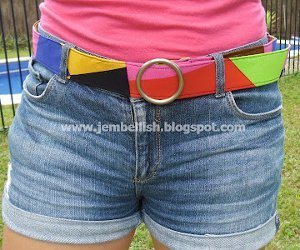 15 Minute DIY Belt