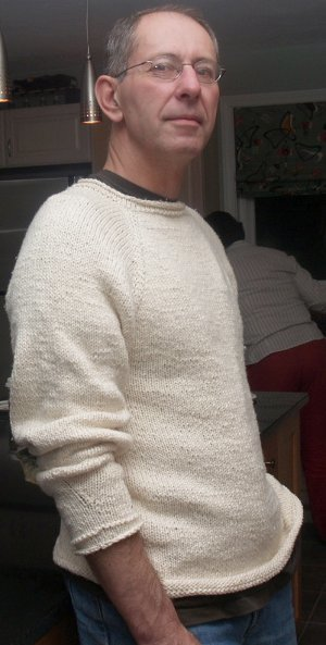 Vanilla Cotton Sweater