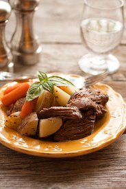 Hassle Free Pot Roast & Potatoes