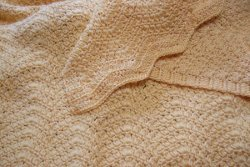 Soft Clusters Ripple Afghan