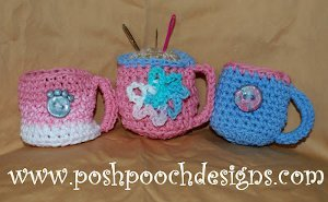 Coffee Cup Pin Cushion
