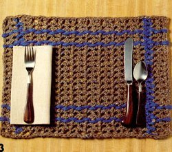 Two-Tone Placemats