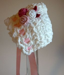 Grab your crochet hook and get ready for instant gratification with this  Ultra Soft Newborn Bonnet. This easy crochet pattern can be embellished any  way you ... a455575c139