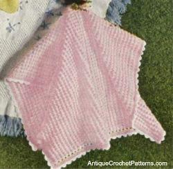 Flamingo Pink Baby Blanket Allfreecrochetafghanpatterns Com
