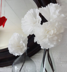 Fun Coffee Filter Flowers