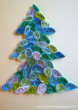 Quilled Christmas Decorations Allfreeholidaycrafts Com