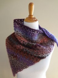 Sugar Plum Shawl