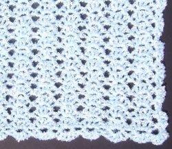 Free Crochet Pattern Queen Size Blanket : Snow Queen Blanket AllFreeCrochet.com