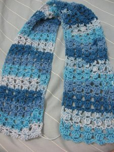Angel Stitch Scarf
