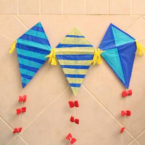 High-Flying Homemade Kite Garland