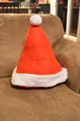 Santa's Hat Pillow
