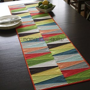 Modern Dresden Quilt Table Runner Favequilts Com