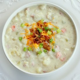 5 Star Creamy Ham & Potato Soup