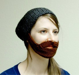 9b9a48e18d4 This Bearded Hat Pattern can be a fun time for everyone. Wear it during the  winter to keep you warm or wear it to your favorite sporting event to cheer  on ...