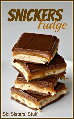 Snickers Fudge