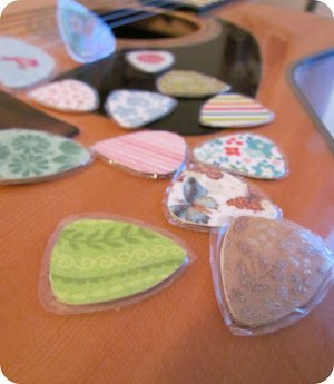 How to Make DIY Guitar Picks