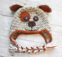 Precious Puppy Dog Hat Allfreecrochet Com