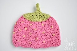 Pink Strawberry Hat