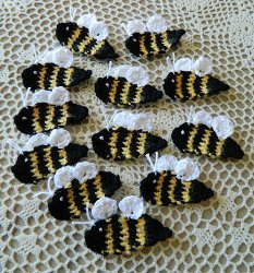 Bumble Bee Applique