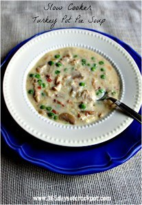 Slow Cooker Turkey Pot Pie Soup