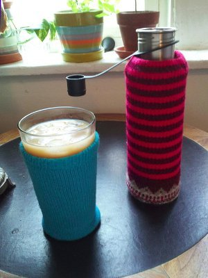 Upcycled Drink Cozy