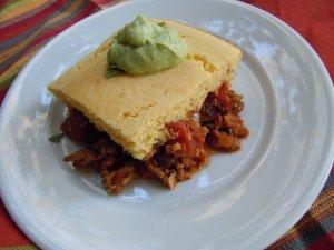 Turkey Tamale Pie | AllFreeCasseroleRecipes.com