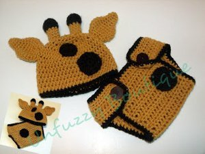 Crochet Baby Elephant Hat & Diaper Cover, You Pick Size and color ... | 225x300