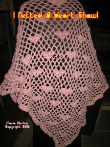 Heart Shawl Crochet Pattern