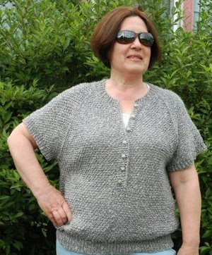 71741794a6a This relaxed fit sweater knitting pattern is meant for lazy summer days and  nights spent outdoors enjoying the weather. Knit with ribbed edges and the  ...