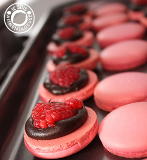 Raspberry and Goat Cheese Swirl Brownies | FaveGlutenFreeRecipes.com