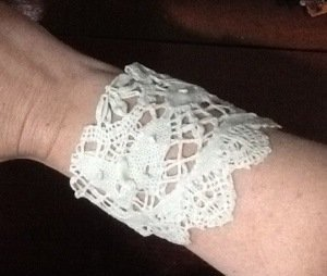Doily Cuff Bracelet Favecrafts Com