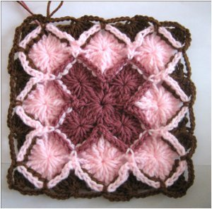How To Crochet A Bavarian Square Favecraftscom